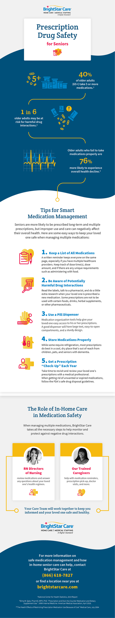 Prescription Drug Safety for Seniors